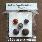 bulletin board push pins