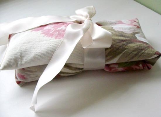 Easy DIY Flax Pillows