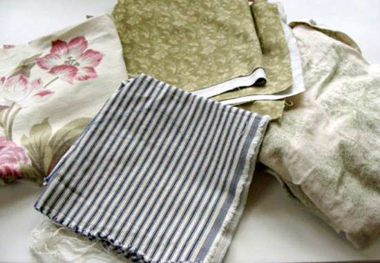 Home decor material for DIY Flaxseed Pillow Warmers