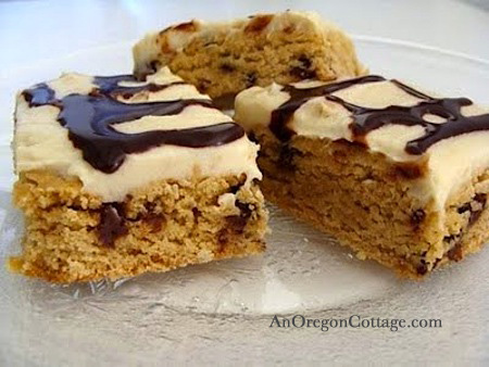 whole-grain peanut butter brownies