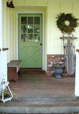 Three Steps To A Spruced Up Outside Entry for Spring