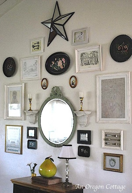 Dining Room Gallery Wall