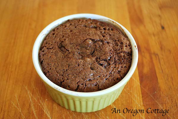 Quick lava cakes - An Oregon Cottage