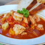 Savory Seafood-Tomato Stew - An Oregon Cottage