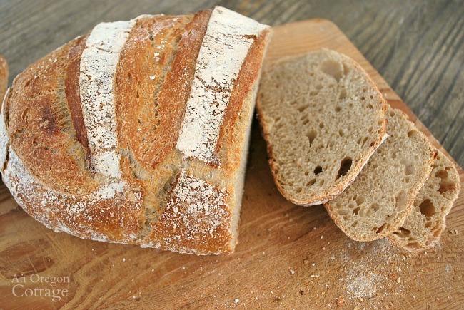 Sourdough Artisan Bread Slices
