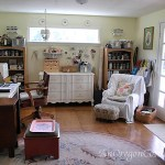 Use Vintage Items in Workroom