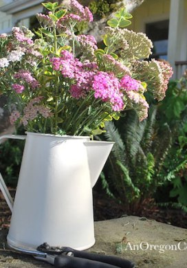 Thrift Store Transformations: Tin Pitcher