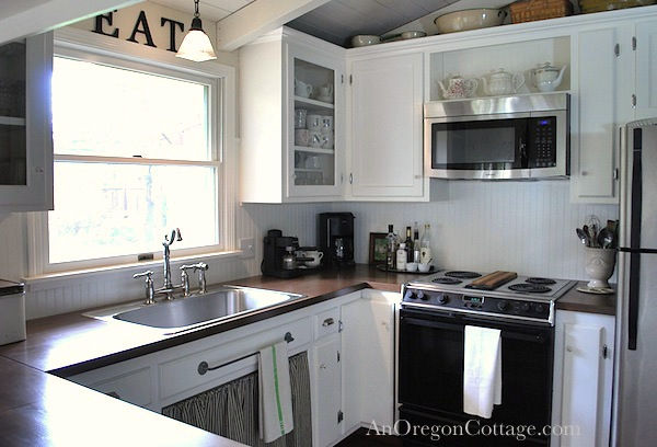 DIY Kitchen Remodel Farmhouse Fresh