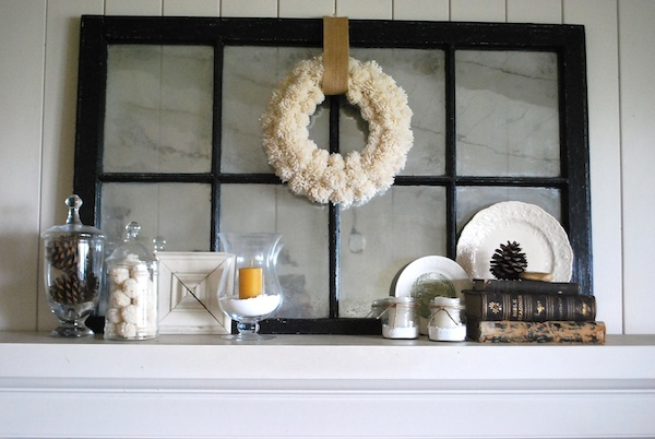 Quiet Winter Mantel