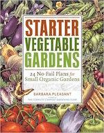 Starter vegetable gardens book