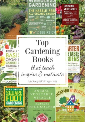 Favorite Gardening Books That Teach, Inspire & Motivate