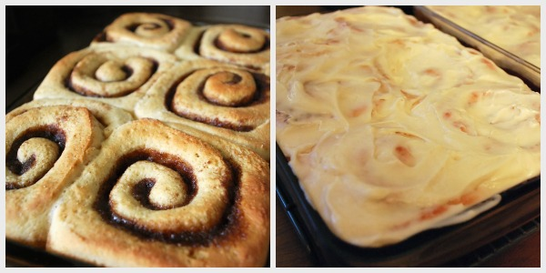baked-frosted-cinnamon-rolls