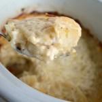 Real Food Slow Cooker Cheesy-Garlic Scalloped Potatoes
