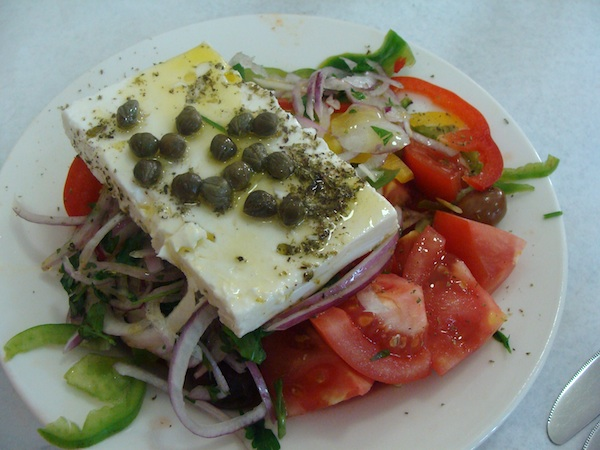 Athens taverna greek salad