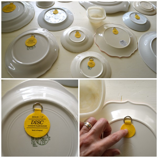 Disc Adhesive Plate Hangers For Walls