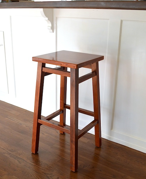 Bar Stool Makeover-Before :: AnOregon Cottage