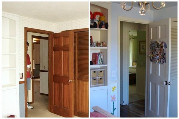 Bedroom 2 Remodel Before-After - An Oregon Cottage