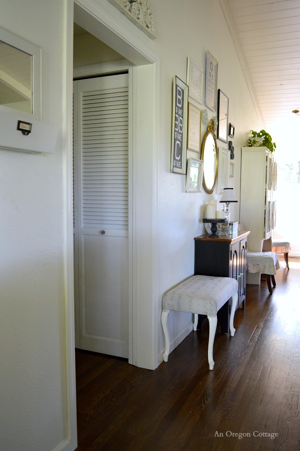 Add Cottage Character to a Doorframe with Molding - finished doorway after2 - An Oregon Cottage
