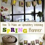 Easy Upholstery Webbing Spring Banner