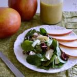 Apple Cider Vinaigrette Salad Dressing - An Oregon Cottage