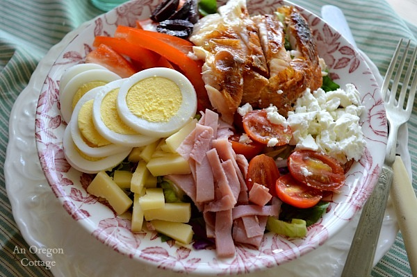 Quick and Easy Chef's Salad - An Oregon Cottage