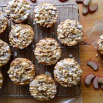 Glazed Orange Rhubarb Muffins