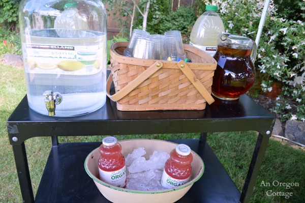 Grad Party Drinks Station - An Oregon Cottage