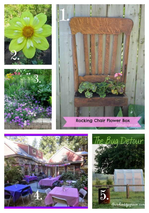 Tuesday Garden Party - Garden Inspiration for 8-26-2014