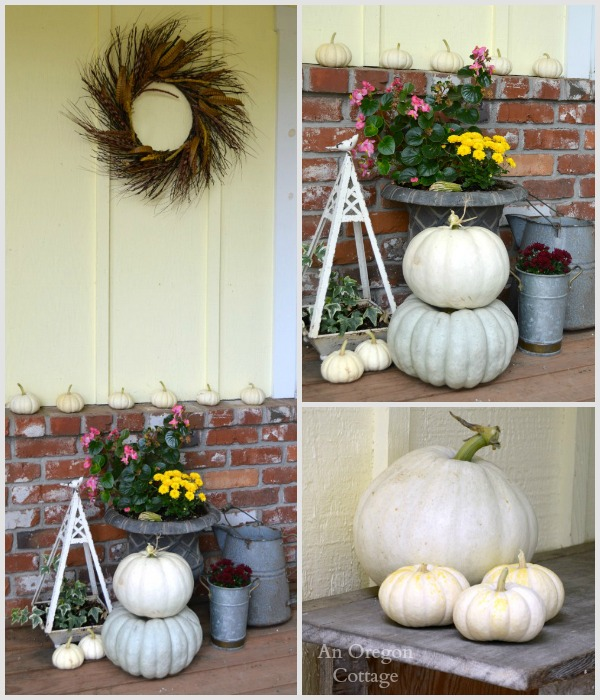 Fall 2014 Porch Decor - An Oregon Cottage