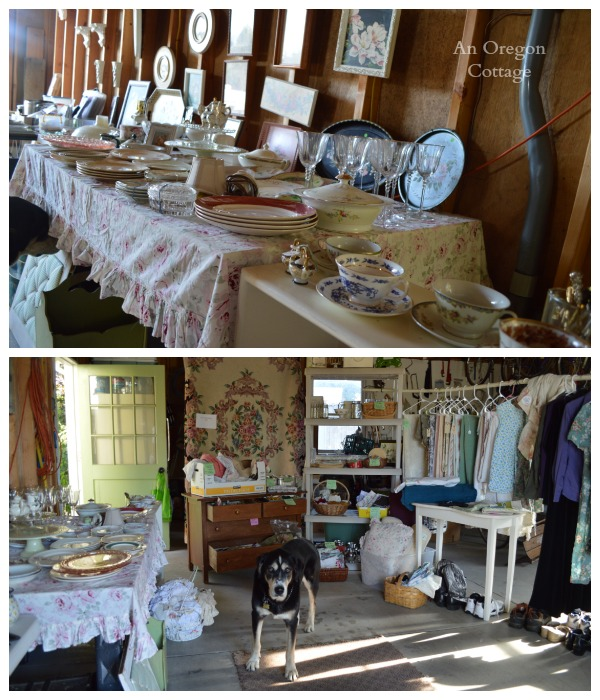 Garage Sale Tips:  Stage the Set Up - An Oregon Cottage