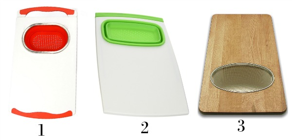 Over-the-sink cutting board options