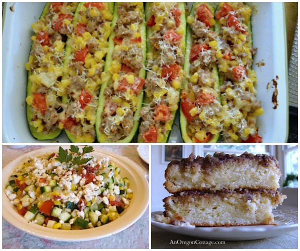 Zucchini Recipes - An Oregon Cottage