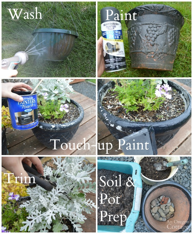 Tips for Planting Organic Flower Pots-container preparation