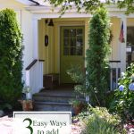 3 Easy Ways to Add Curb Appeal in Late Summer