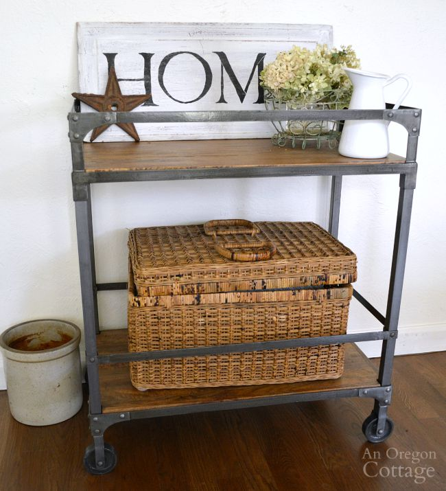 three things bar cart plums cast iron love. Black Bedroom Furniture Sets. Home Design Ideas