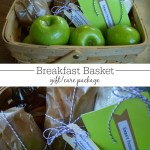 Breakfast Gift Basket {or Care Package}