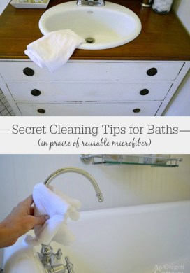 'Secret' Green Cleaning Tips for Bathrooms