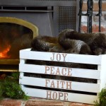DIY Christmas Word Art Crate {+ MORE Crate Ideas!}