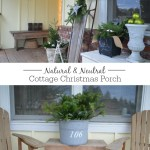 Natural & Neutral Christmas Porch