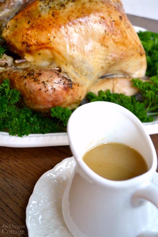 White Wine Roasted Turkey with amazing gravy