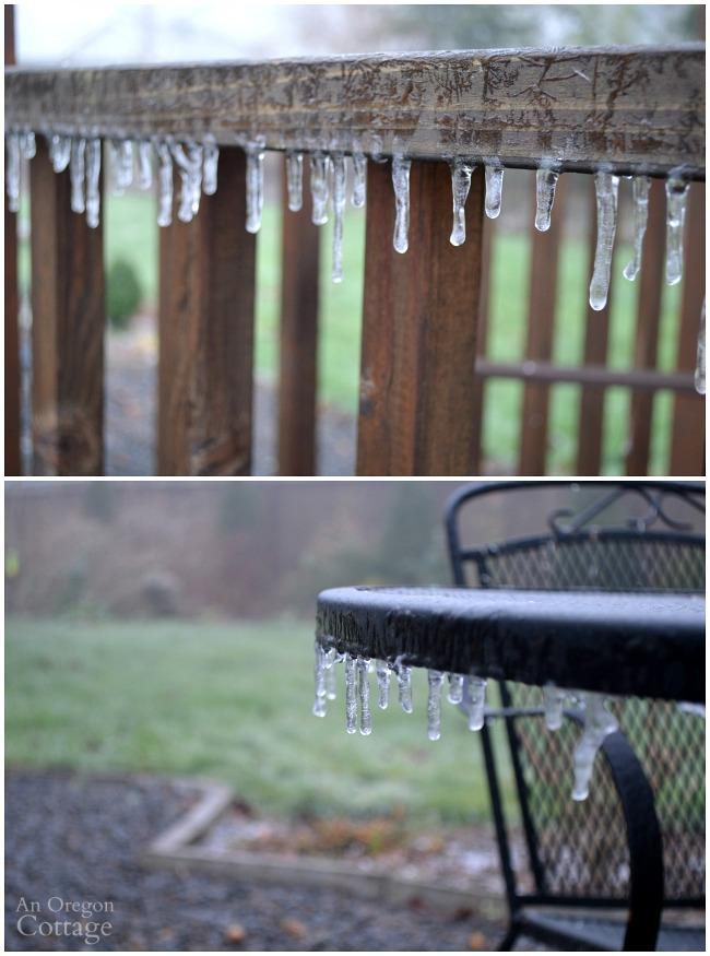 January 2016 freezing rain