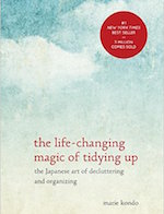 The life Changing Magic of Tidying Up cover