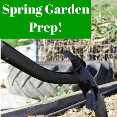 Spring Garden Prep via Homemade Food Junkie