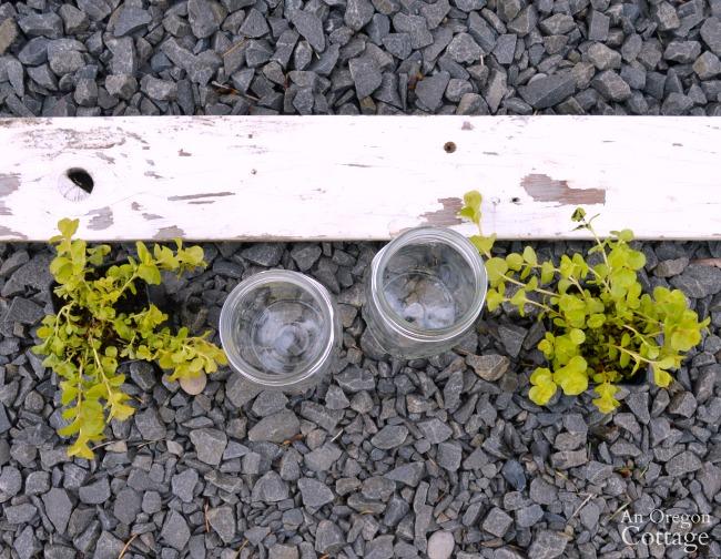 Reclaimed Wood Box-Mason Jar Gift materials