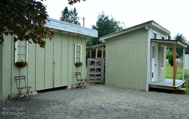 Garden Tour-Garden sheds