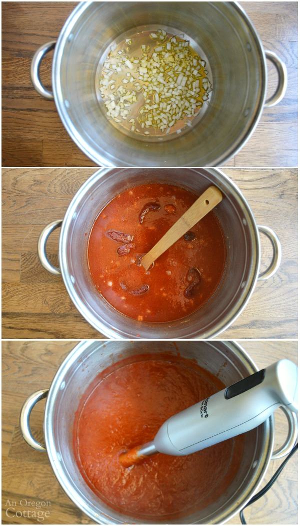 Making Easy Canned Chipotle BBQ Sauce recipe