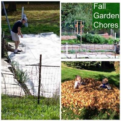 Fall garden chores via Homemade Food Junkie