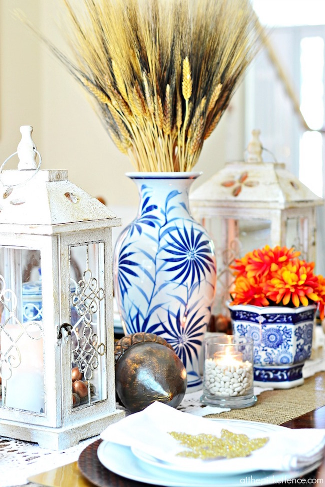 Blue-and-White-Thanksgiving-Tablescape-via At The Picket Fence