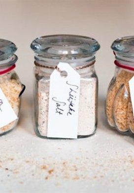 Flavored Salt Sets -31 Days of Handmade Gifts