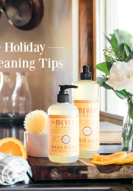 Holiday Cleaning Tips { & Free Mrs. Meyer's with Grove Collaborative}